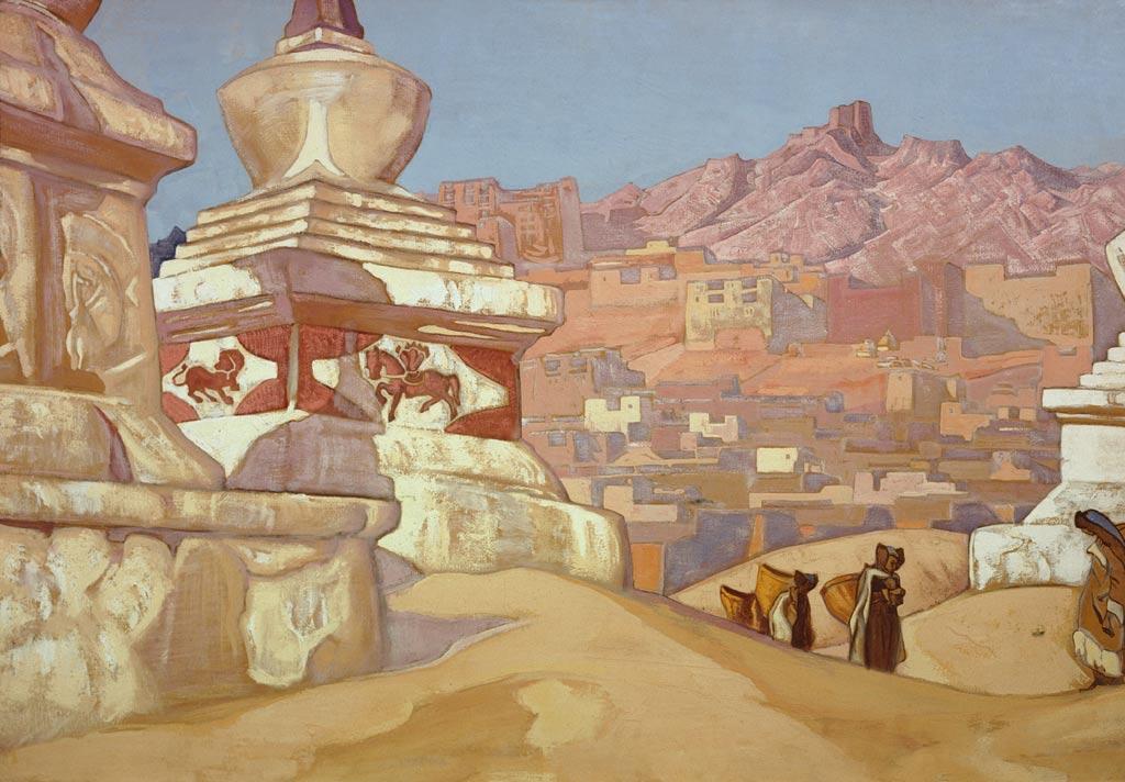 Н.К. Рерих. Конь счастья. 1925